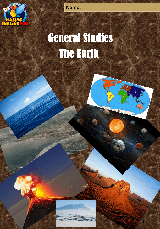 The Earth – Plate Tectonics and Solar System full 6 lesson scheme of work