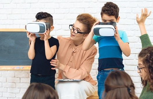 Be Safe Using VR in Your Classroom.