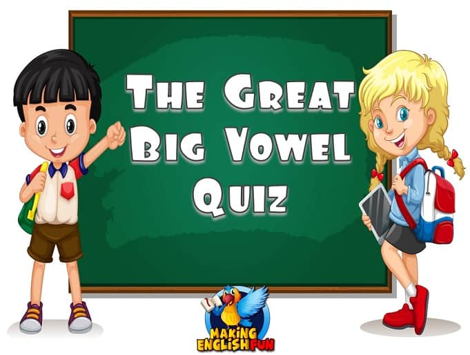The Great Big Vowel PowerPoint Quiz – Jeopardy Games.
