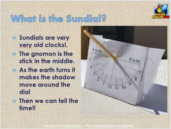 Make a Sundial powerpoint FREE