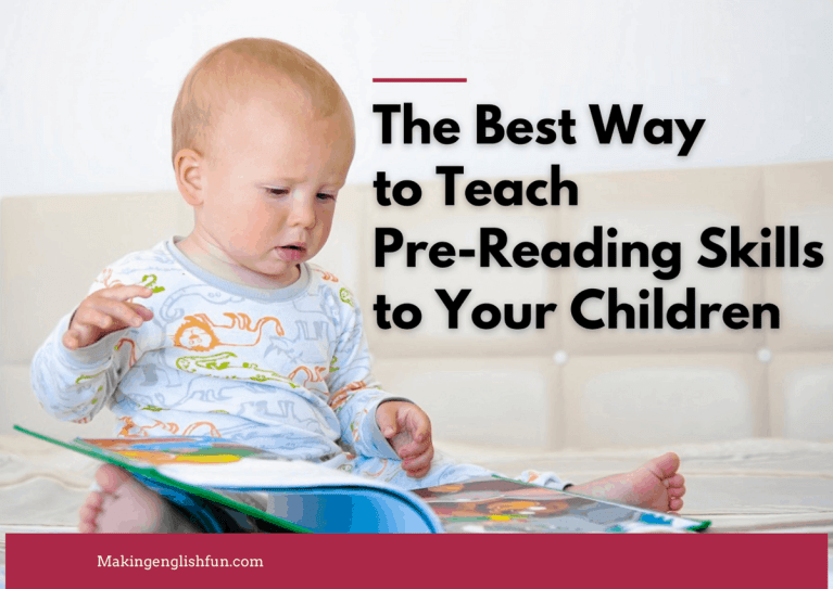 How to Teach Pre Reading Skills to your Children?