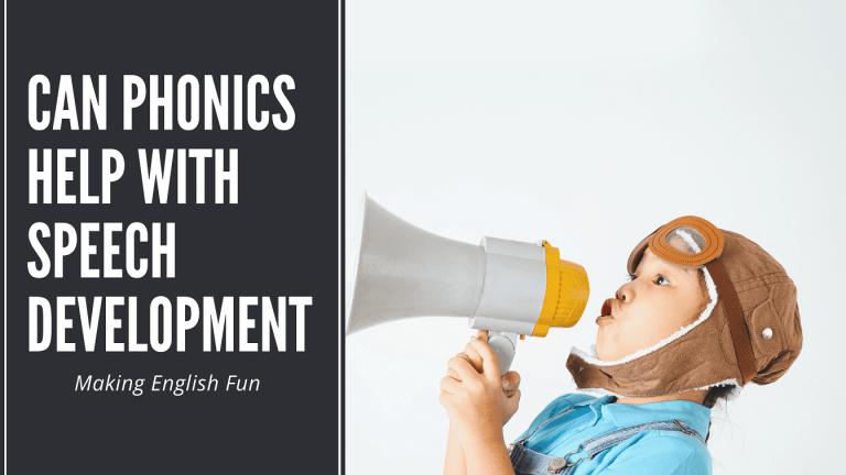 How Can Phonics Help with Speech Development?