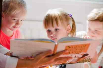 Kindergarten reading skills