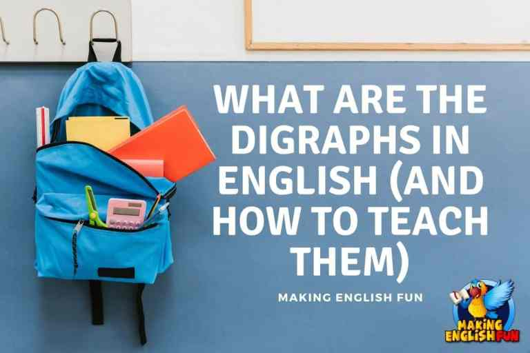 What are the Digraphs in English (And How To teach Them)