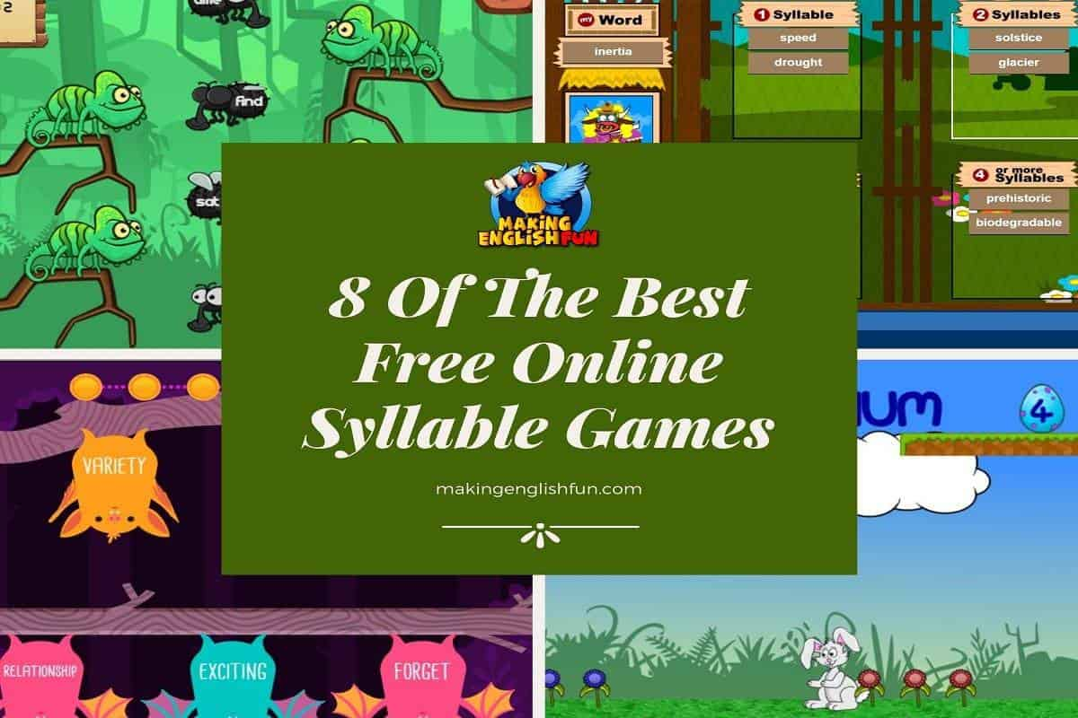 Free Online Syllable Games