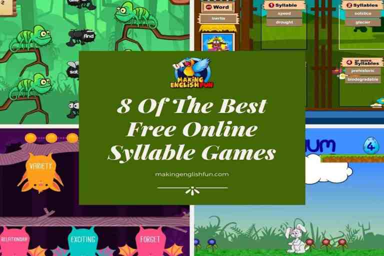 The Best Free Online Syllable Games