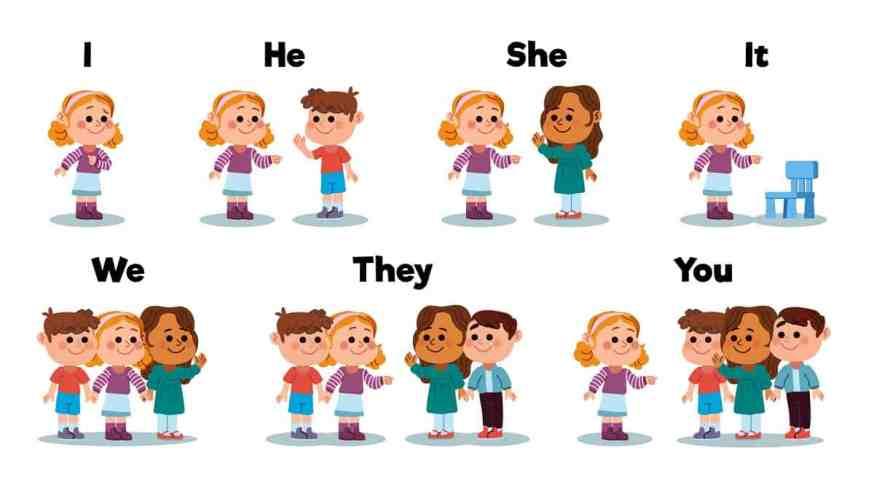 Personal Pronoun Example