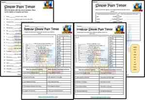 FREE Simple Past Tense Worksheets