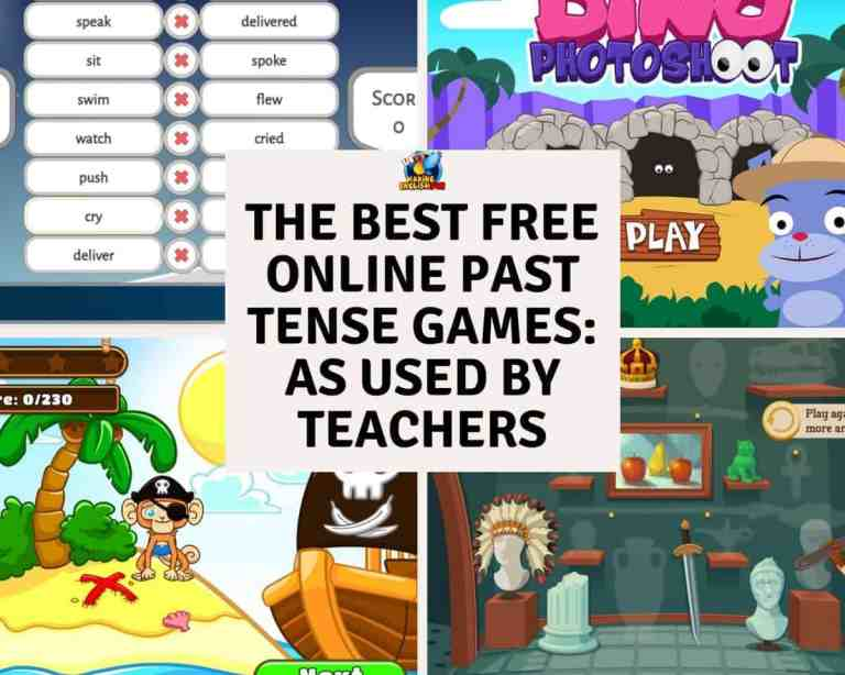 The Best Free Online Past Tense Games: As Used By Teachers