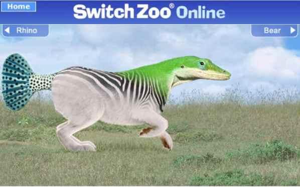 Switchzoo animal Game