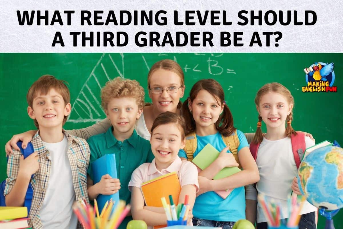What reading level should a third grader be at