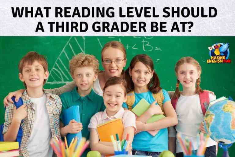What Reading Level Should a Third Grader Be At?