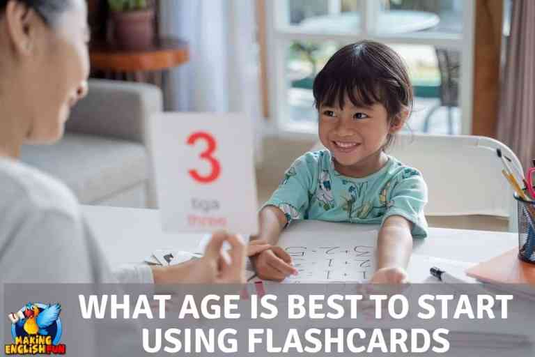 What Age Should Children Start Using Flashcards