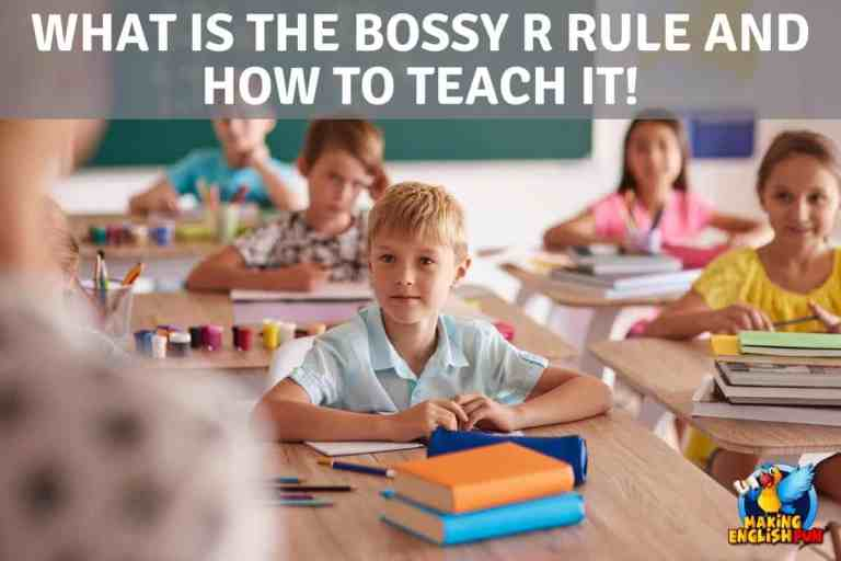 What is the Bossy R Rule?