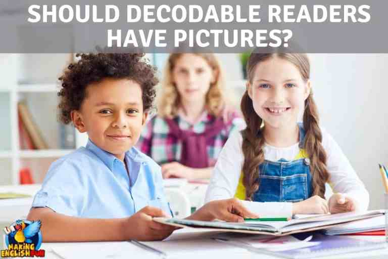 Should Decodable Readers have Pictures?