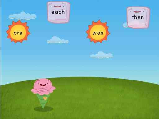 online sight word game