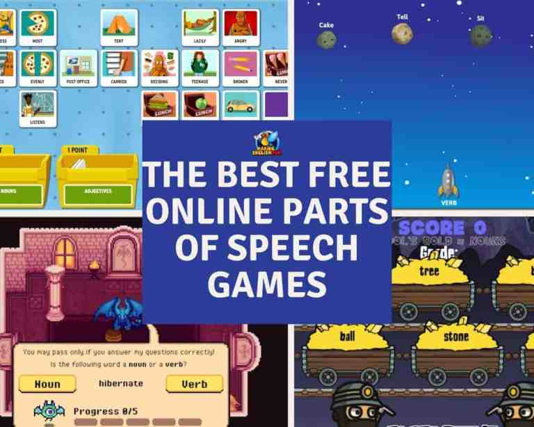 The Best Free Online Parts of Speech Games