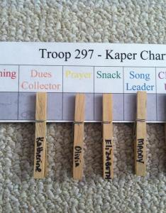 cthis is our th grade junior kaper chart also scout leader blog ideas for  rh makingfriends