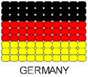 Germany Flag Pin Pattern