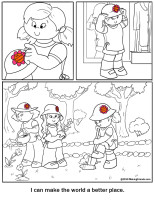 Earning Daisy Petals Coloring Pages