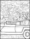 Girl Guide Coloring Pages for Thinking Day