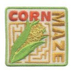 Corn Maze Girl Scout Patch
