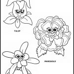 Daisy Flower Puppet Color Printable