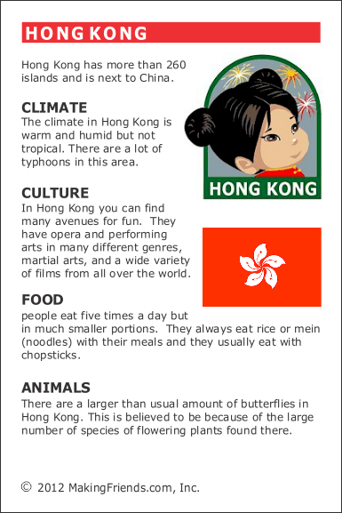 Facts about Hong Kong  MakingFriendsMakingFriends