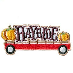 Girl Scout Hayride Fun Patch