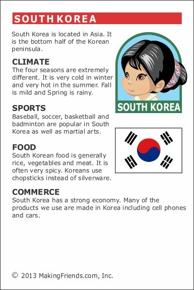 Facts about South Korea  MakingFriendsMakingFriends