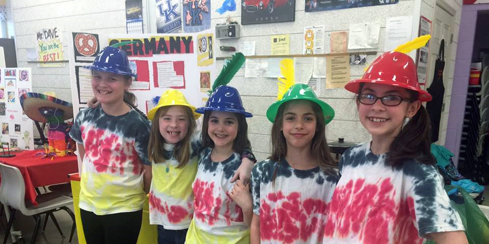 Germany Girl Scout Thinking Day