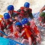 Stacey Russell Leinen whitewater rafting. loved it