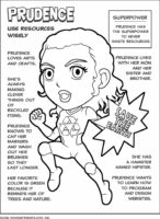 Superhero Scout Law Coloring Pages
