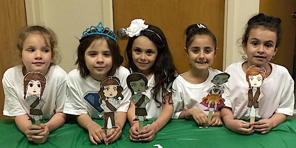 Girl Scout Superhero