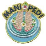 Mani and Pedi Girl Scout Fun Patch