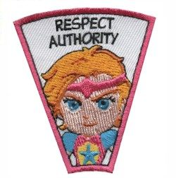 Respect Authority Superhero Patch  LIMITED SUPPLY   MakingFriends