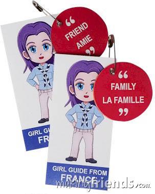 France International Friendship Swap Kit: Learn French. via @gsleader411