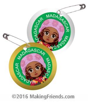 Madagascar Thinking Day SWAPs