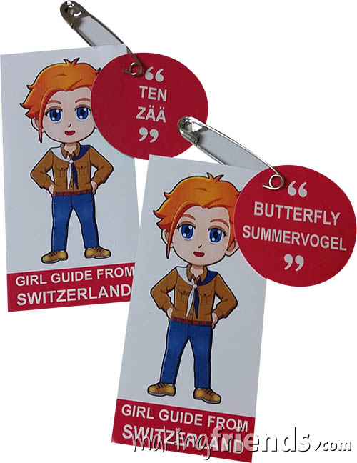 Girl Scout Thinking Day Learn SWAP Kit Switzerland via @gsleader411