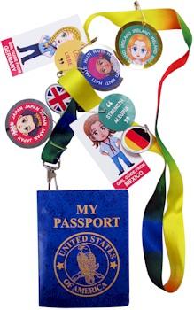 Girl Scout Passport Lanyard