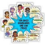 Daisy Girl Scout Superhero Downloads