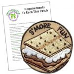 Girl Scout S'more Fun Patch