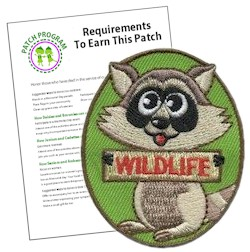 Girl Scout Wildlife Fun Patch