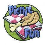 Girl Scout Picnic Fun Patch