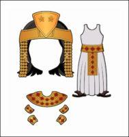 World Thinking Day Traditional Egypt Clothing