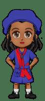Kenya Girl Guide Uniform for Thinking Day