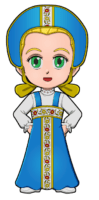 World Thinking Day Traditional Russian Clothing
