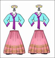 World Thinking Day Traditional South Korea Clothing