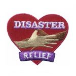 Girl Scout Disaster Relief Patch