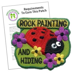 Rock Painting and Hiding Patch